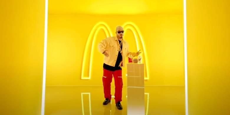 J Balvin presentó su menú en McDonalds