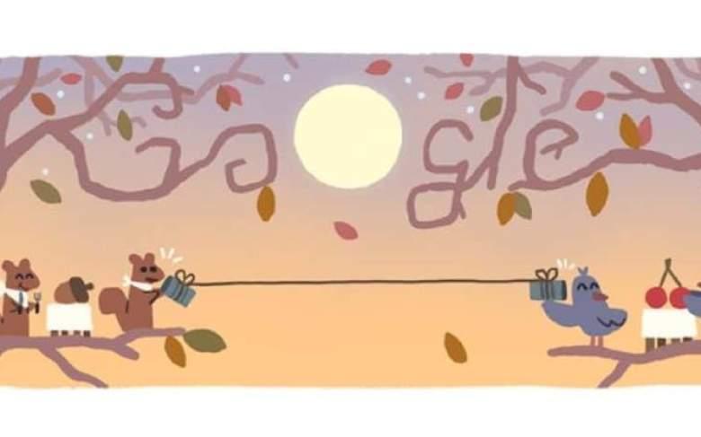 Google celebra el Día de Acción de Gracias 2020 con un Google Doodle