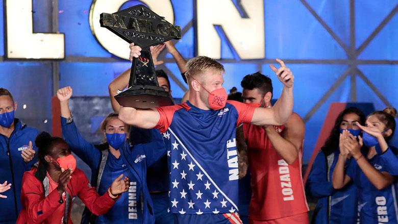 Nate Burkhalter, campeón de la cuarta temporada de Exatlón EEUU.