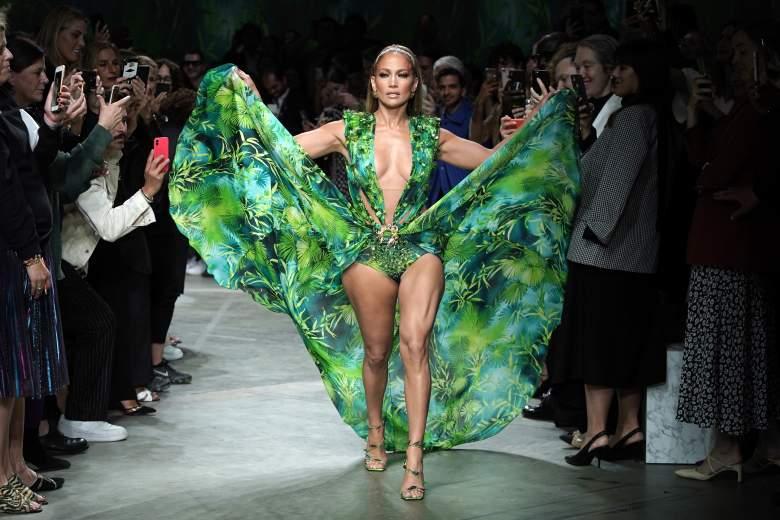 El vestido Versace de Jennifer López
