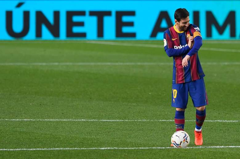 Lionel Messi frente al Real Betis - 2020