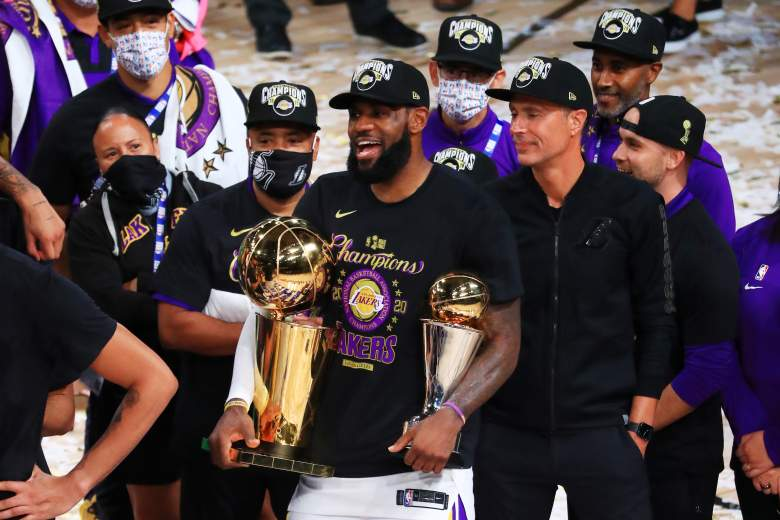 Angeles Lakers - Finales NBA 2020.