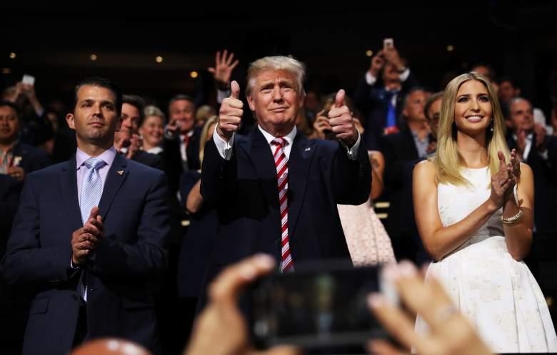 El hijo de Trump tiene Covid