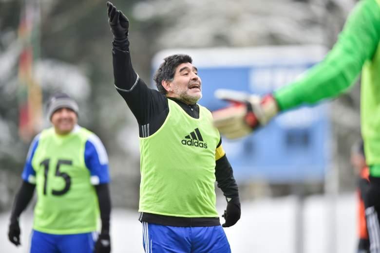 Video de Maradona con Chespirito