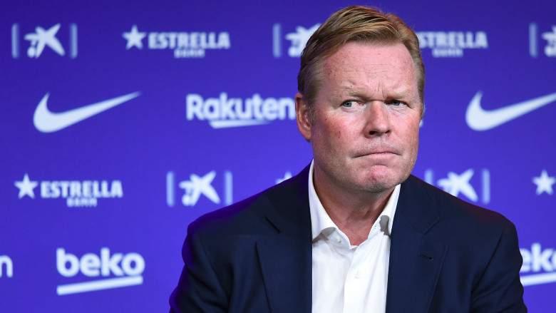 Entrenador del FC Barcelona, Ronald Koeman