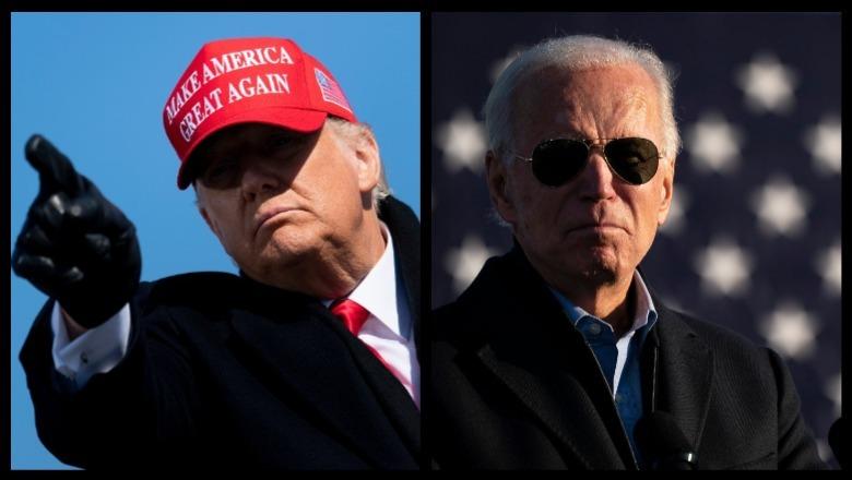 Trump y Biden se enfrentan en las elecciones