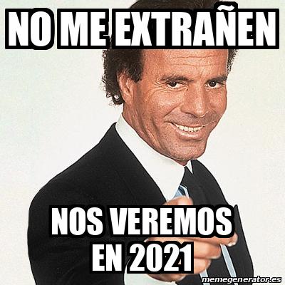 Feliz Año 2021! - Memes para compartir en las redes
