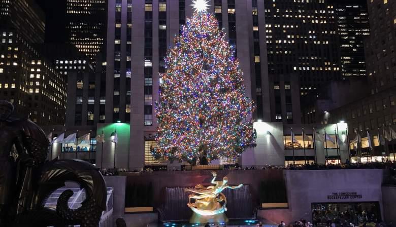 Encendido del Árbol de Navidad en Rockefeller 2020: Hora y Canal