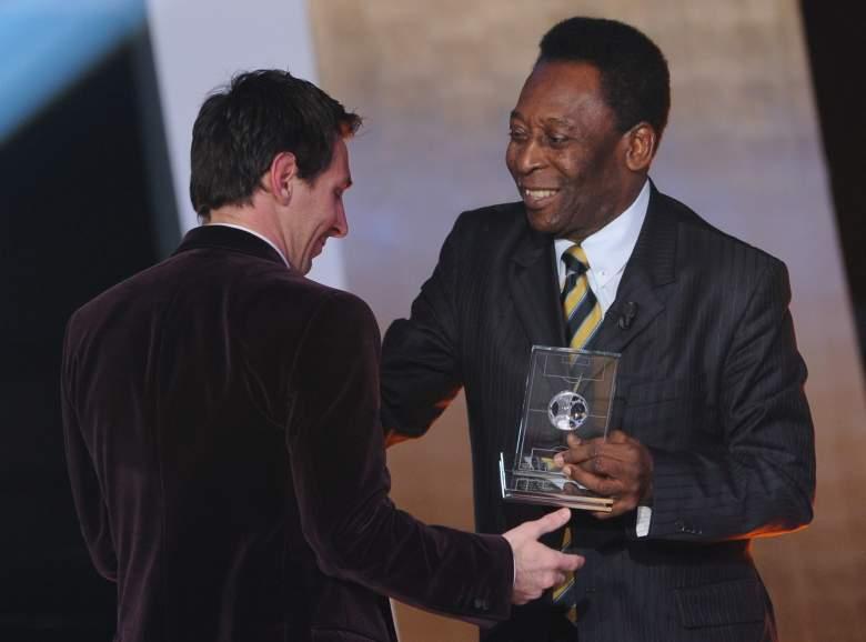 Leo Messi y Pelé