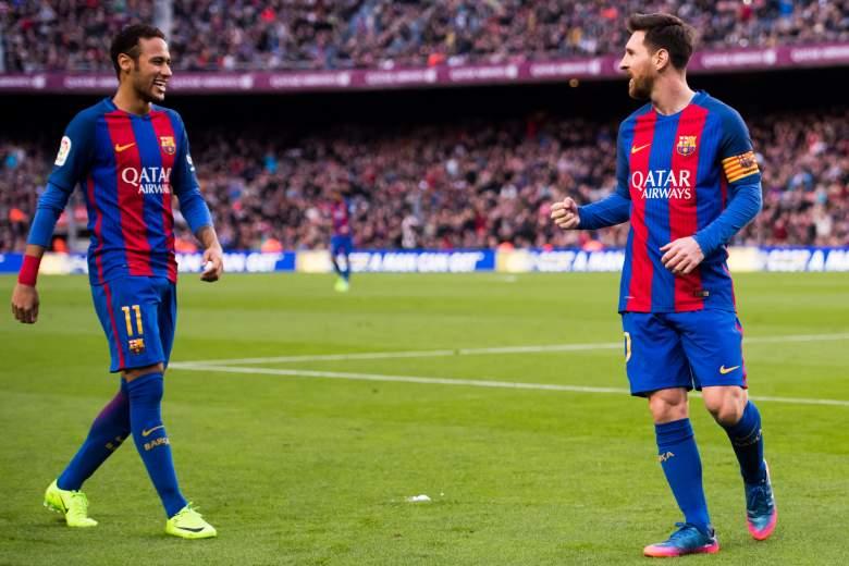 Messi y Neymar - FC Barcelona