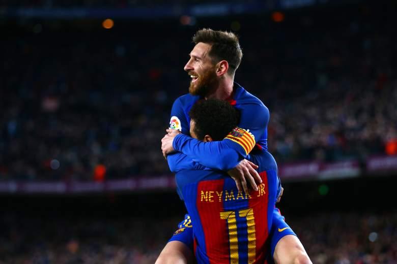 Lionel Messi y Neymar JR. - FC Barcelona