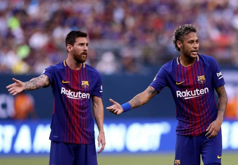 Neymar Jr. y Leo Messi - FC Barcelona
