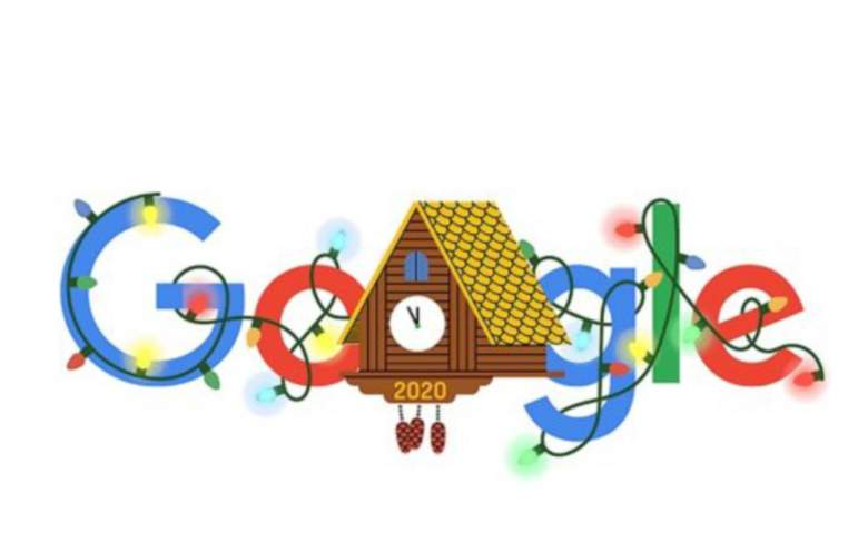 Google celebra el Fin de Año 2020 con un Google Doodle