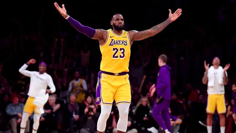 LeBron James de Los Angeles Lakers