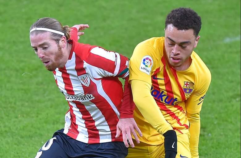 Iker Muniain vs Sergiño Dest, final de la Supercopa de España.