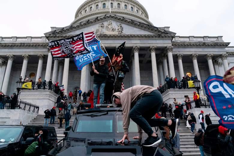 Los buscados por el ataque al Capitolio