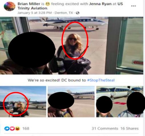Jenna Ryan agente de bienes raíces irrumpe en el Capitolio