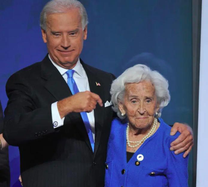 Catherine 'Jean' Biden, madre de Joe Biden