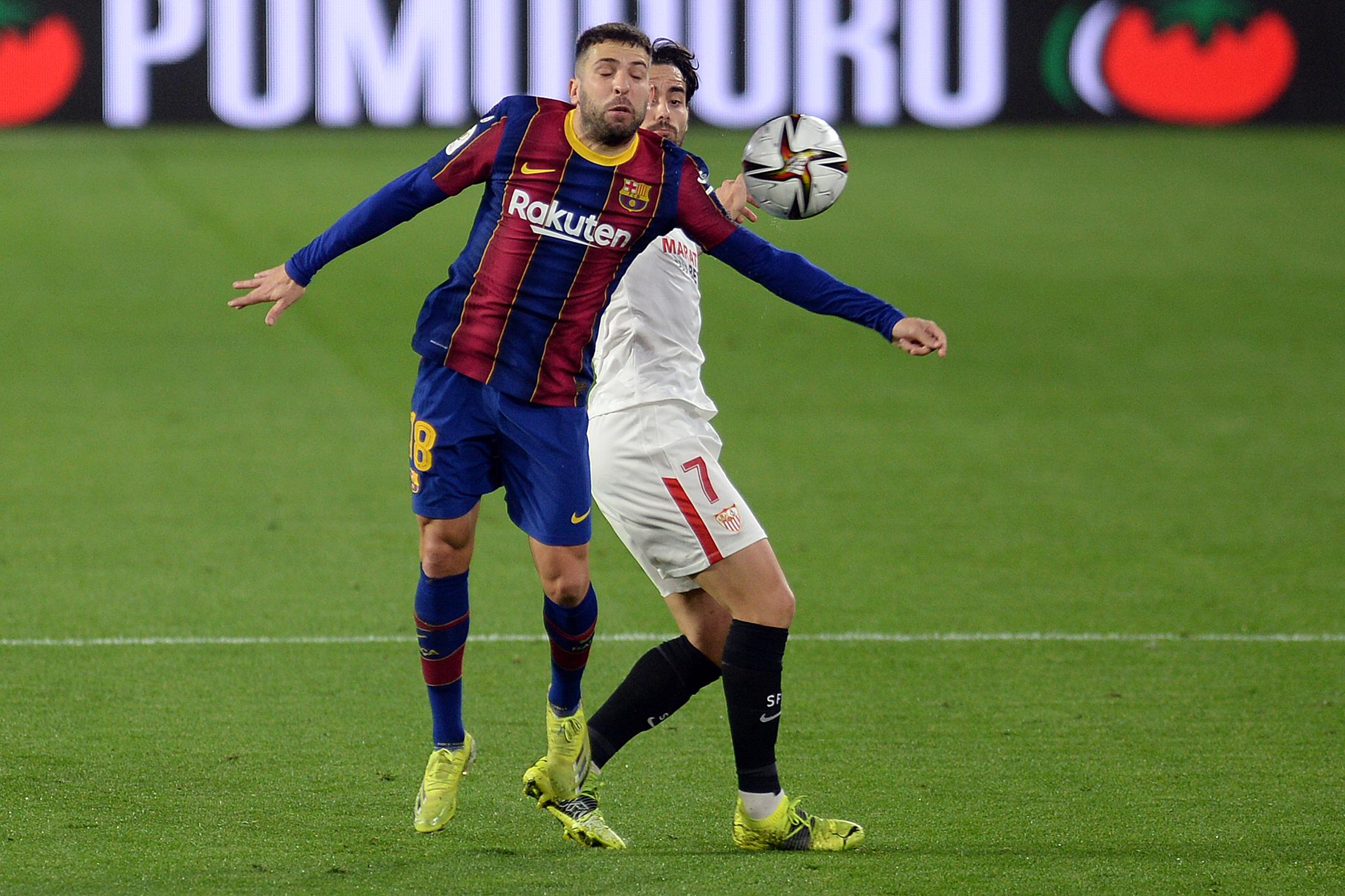 Jordi Alva vs Sevilla