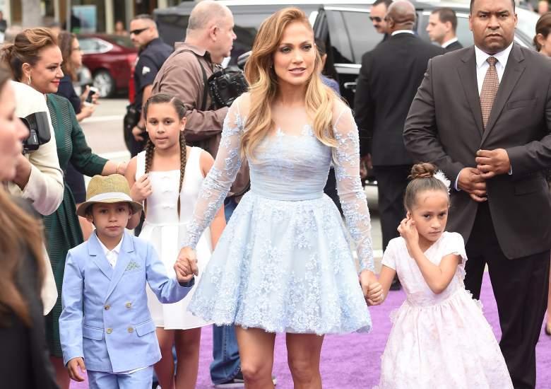 Los hijos de Jennifer López Max y Emme, cuántos años tienen?