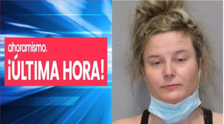 Leslei Jordan Kuykendall es arrestada por intentar ahogar a su bebé de siete meses en un rio helado