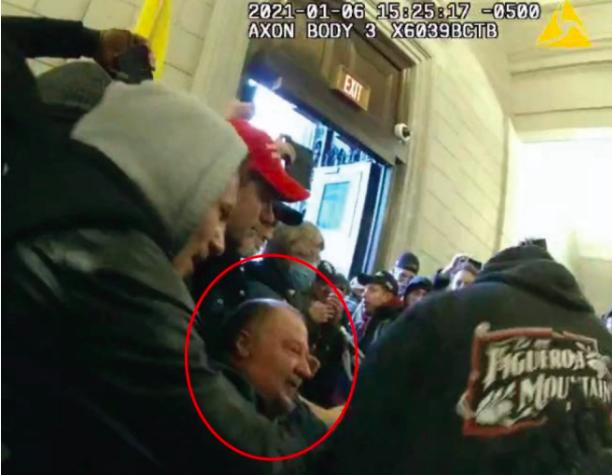 Joseph Fischer: policía de Pensilvania arrestado por insurrección del Capitolio en D.C.