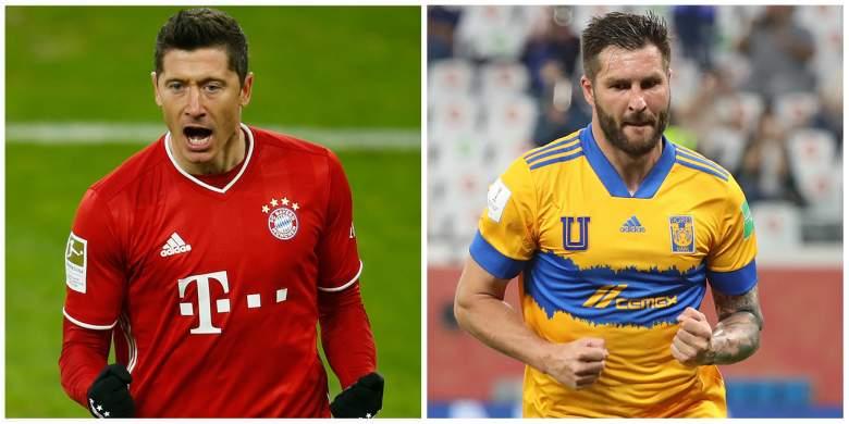 Robert Lewandowski y André-Pierre Gignac se verán las caras en la final del Mundial de Clubes.