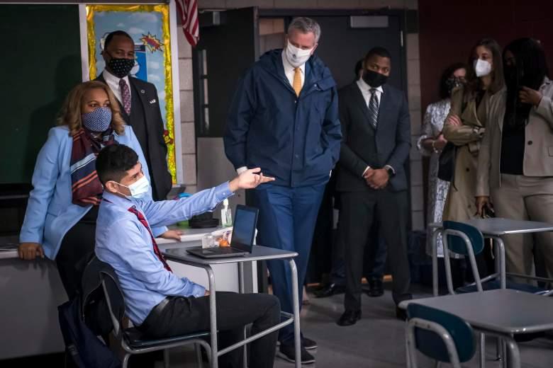 Escuelas de Nueva York pronto regresarán todas a clases presenciales