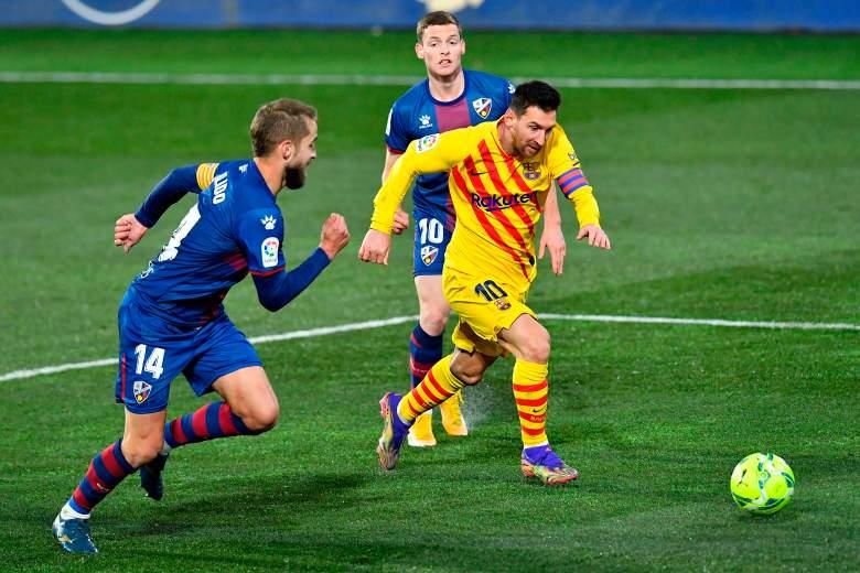 FC Barcelona recibe al Huesca.