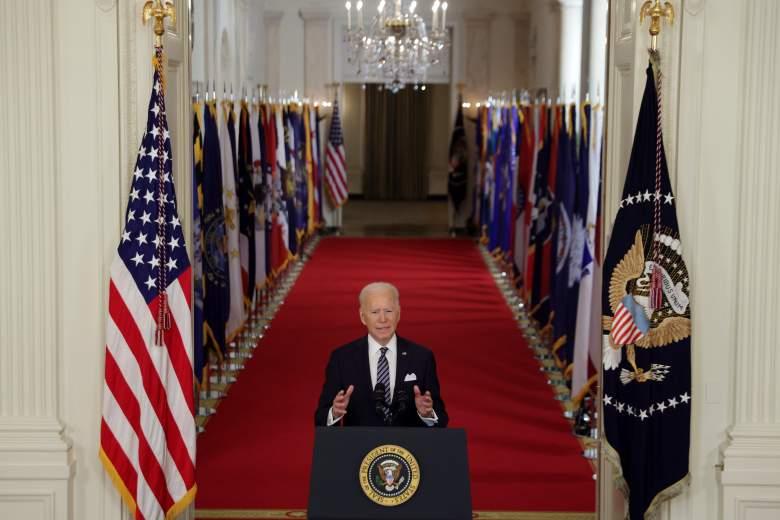 Discurso de Biden: todos los adultos podrán vacunarse el 1 de mayo