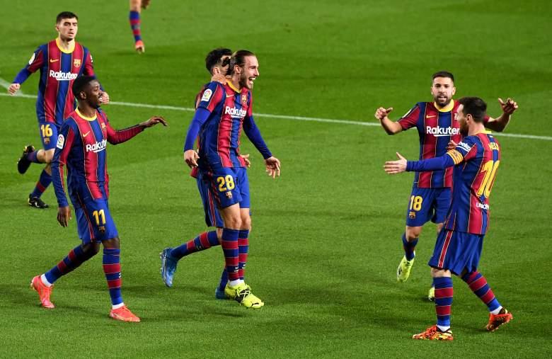 [VIDEO] Los golazos de Messi y Griezmann para meter presión al Atlético