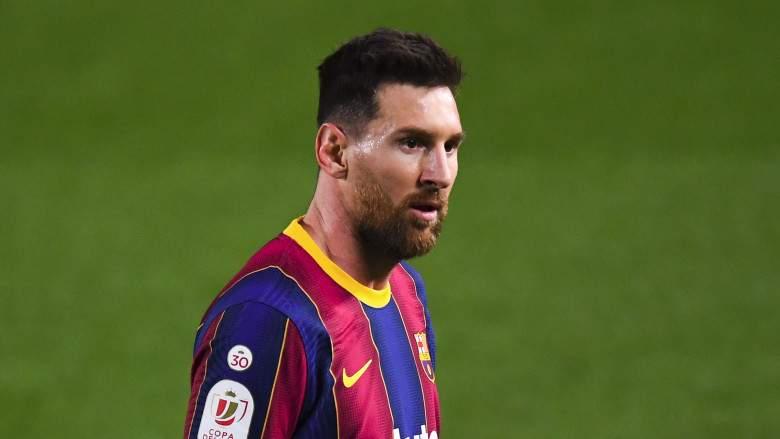 Messi se ve envuelto en un furioso choque en el túnel tras triunfo del Barcelona