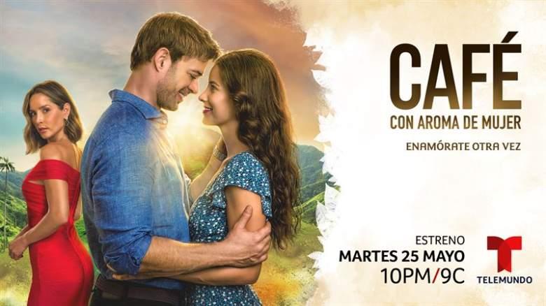 "Telemundo anuncia fecha de estreno de ""Café, con aroma de mujer"""