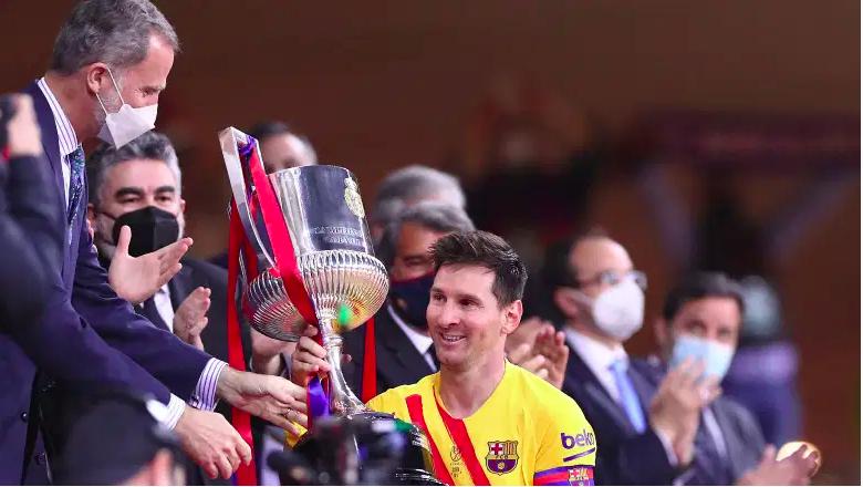 Lionel Messi - Copa del Rey