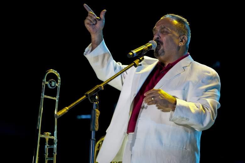 """El cantante estadounidense Willie Colón se presenta durante las """"Voces de América Unidas por Juárez"""" en el marco del Festival Internacional de Chihuahua, en Ciudad Juárez, el 17 de septiembre de 2010."""