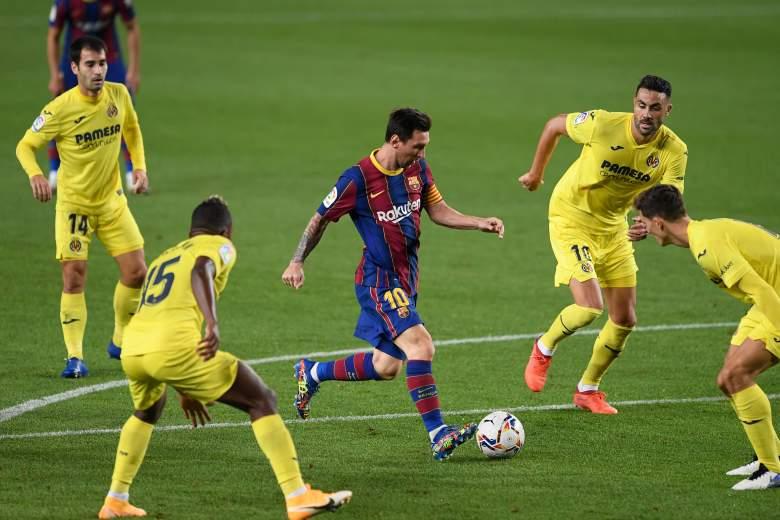 Villarreal vs Barcelona.