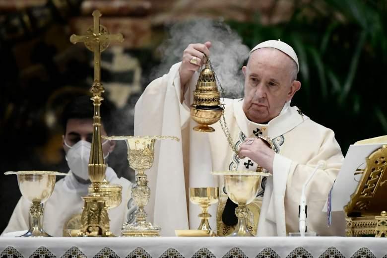 Qué dijo el Papa en su misa de Pascua