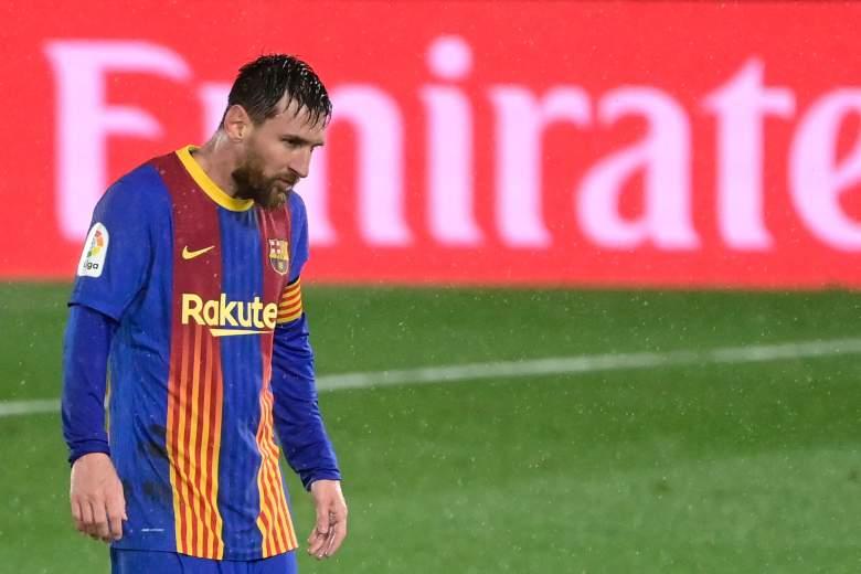 Video Messi temblando de frío en clásico Real Madrid Vs Barcelona