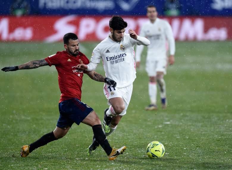 Real Madrid vs Osasuna.