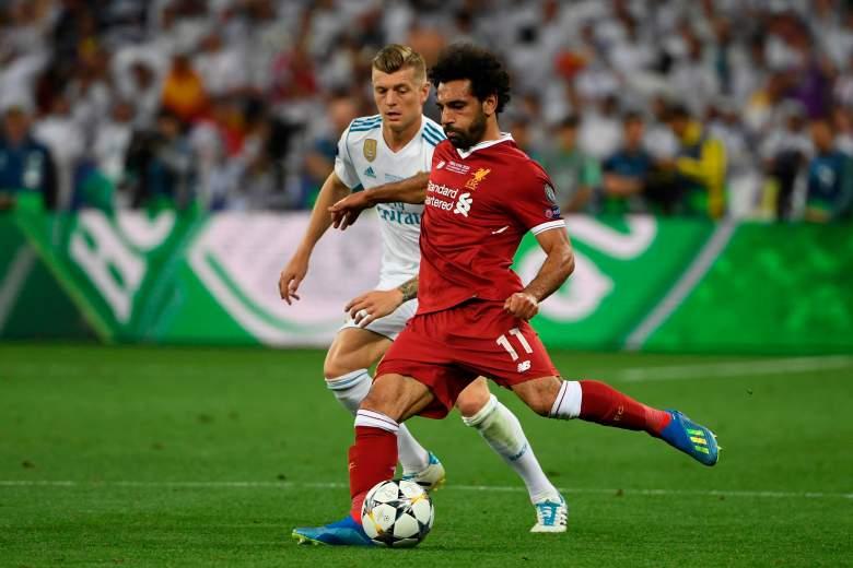 Real Madrid vs Liverpool.
