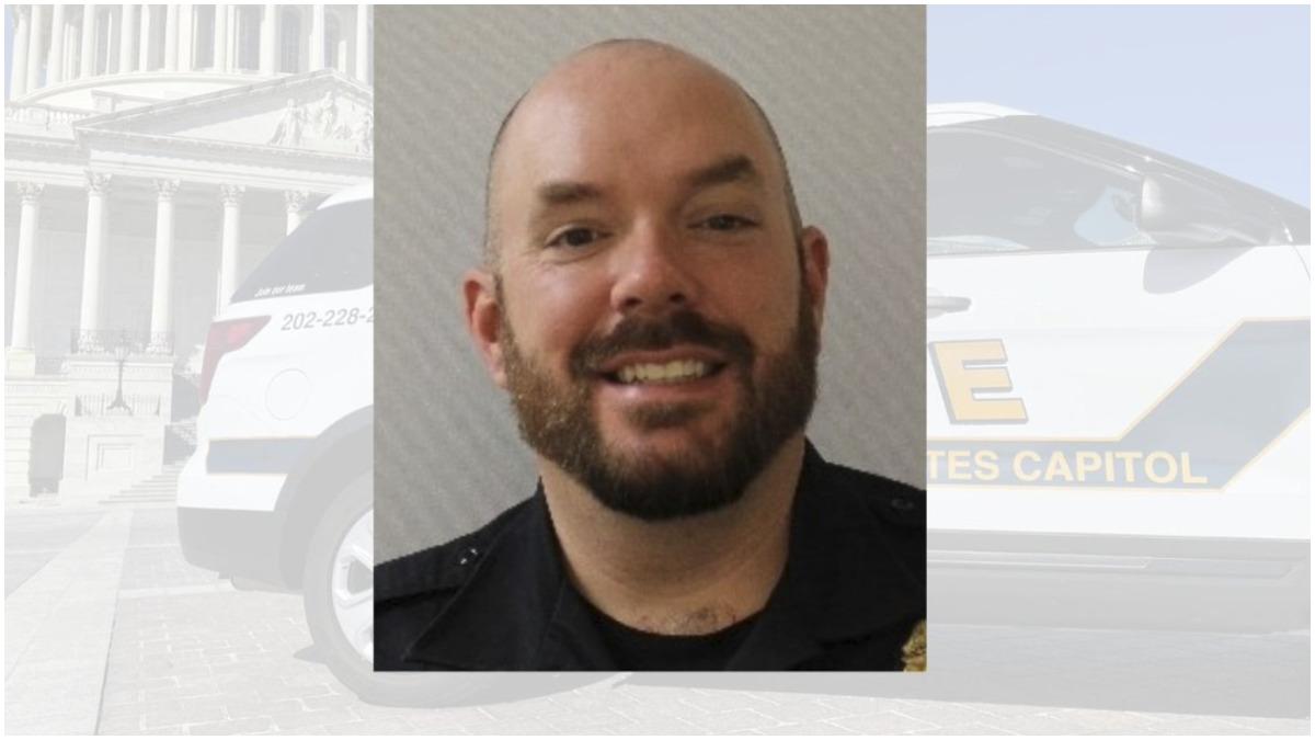 """El Oficial William """"Billy"""" Evans, quien murió en el ataque al Capitolio"""