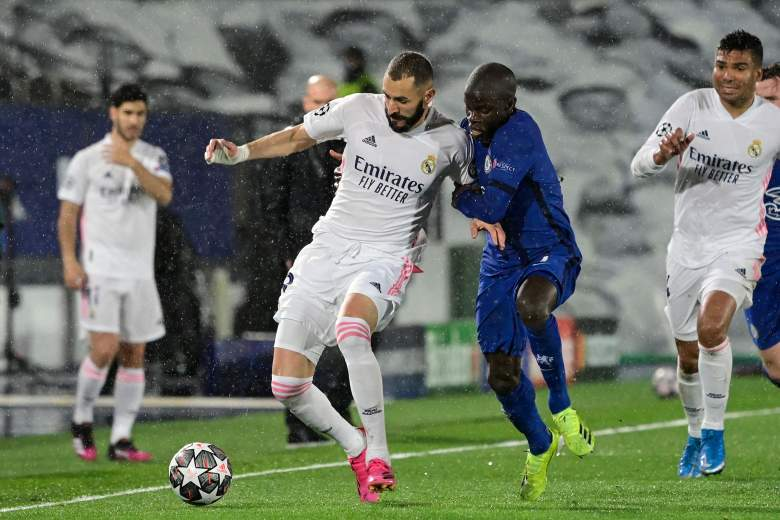 Chelsea vs Real Madrid.