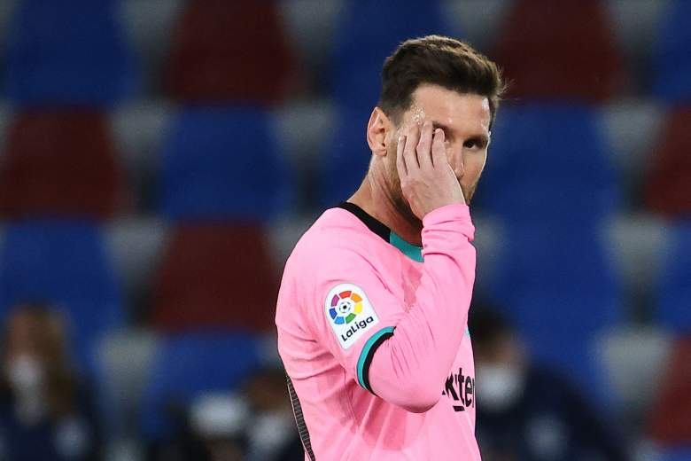 La furiosa reacción de Messi ante el costoso empate del Barcelona