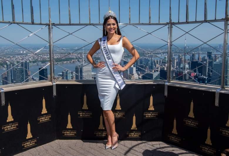 Fotos de Miss Univerzo, Andrea Meza, sin maquillaje