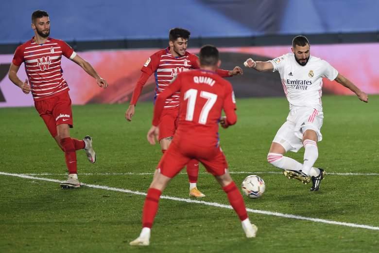 Granada vs Real Madrid.