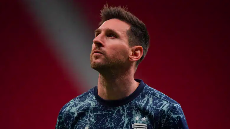 Lionel Messi, capitán de Argentina y Barcelona