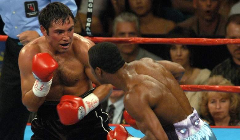Oscar de la Hoya regresará al ring en septiembre contra una estrella de la UFC
