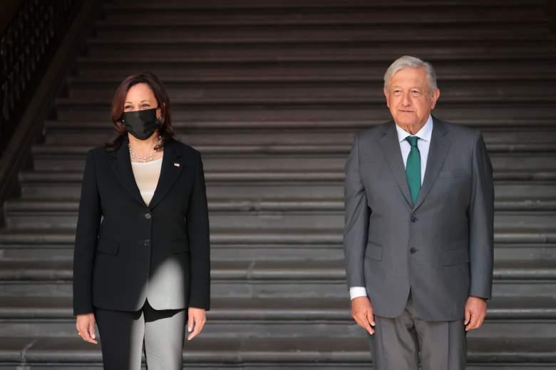 Kamala Harris y López Obrador