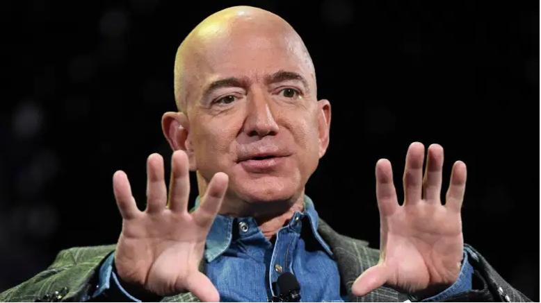 El ex director ejecutivo de Amazon, Jeff Bezos.