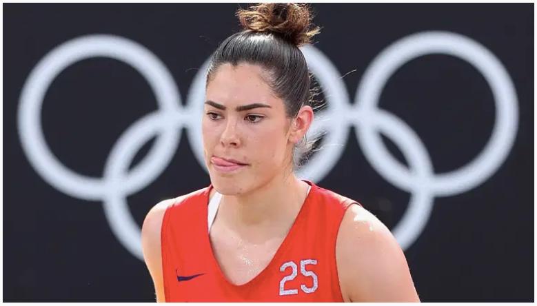 Kelsey Plum del equipo de EE.UU.